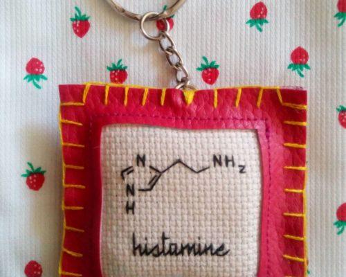 Porte-clés Histamine